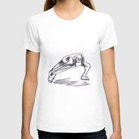Stretch Womens Fitted Tee White SMALL