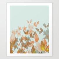 Floral Impressions Art Print