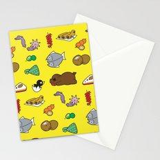 Filipino Food Pattern Stationery Cards