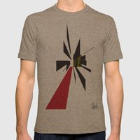 The Path    [POINT] [DIRECTION] [GOAL] [FOCUS] [ABSTRACT] Mens Fitted Tee Tri-Coffee SMALL