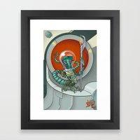 Astro Zodiac Force 06: Snake Framed Art Print