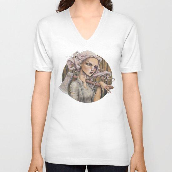 Ex V-neck T-shirt
