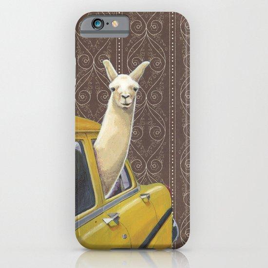 Taxi Llama iPhone & iPod Case