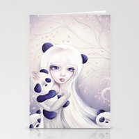 Panda: Protection Series Stationery Cards