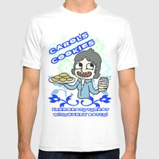 carol's cookies SMALL Mens Fitted Tee White