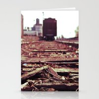 Railway Details Stationery Cards