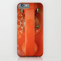 iPhone & iPod Case featuring HELLO? by Lauren Little