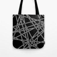 To The Edge Black #2 Tote Bag