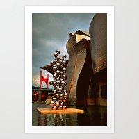 Museo Guggenheim Art Print