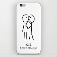 KISS by ISHISHA PROJECT iPhone & iPod Skin