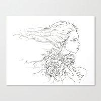 Whispering Rose Canvas Print