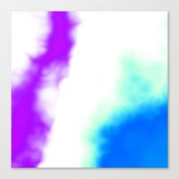 Puff Of Colors Canvas Print