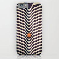 iPhone Cases featuring Dot V (melt) by Metron
