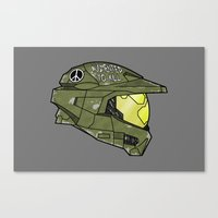 Augmented to Kill Canvas Print