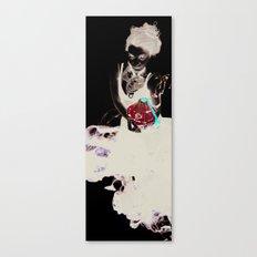 Encre (Ink) Canvas Print
