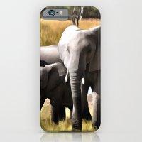 elephants iPhone & iPod Cases featuring Elephants by Regan's World