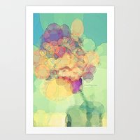 A Rose To Remember Art Print