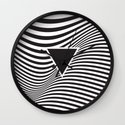 Wave IV Wall Clock