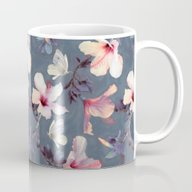 Butterflies And Hibiscus… Mug