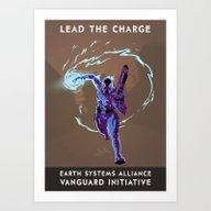 Mass Effect 3- Vanguard … Art Print