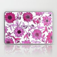 Small Pink Flowers Laptop & iPad Skin