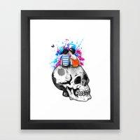 Love, hate, tragedy... Framed Art Print