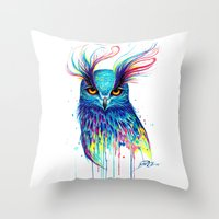 -Aurora- Throw Pillow