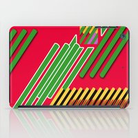 Slicing Pattern—lines and clrs—⁄ ⁄⁄ neå† design!¡!¡!COOOOL!¡!¡!¡! iPad Case