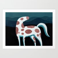 Appaloosa, Mountain Hors… Art Print
