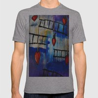 Berry Please Mens Fitted Tee Athletic Grey SMALL