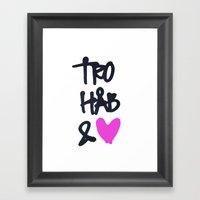 Tro Framed Art Print
