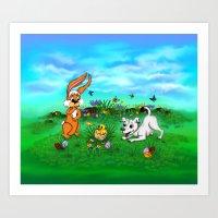 Easter - Spring-awakenin… Art Print