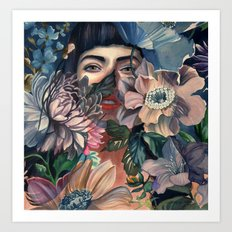 HIDE & SEEK Art Print