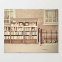 Dollar Books Canvas Print