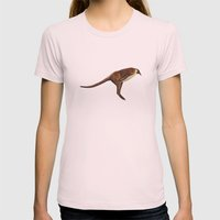 Pengaroo Womens Fitted Tee Light Pink SMALL