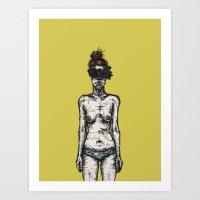 Tumor Face Art Print