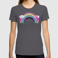glitchbow Womens Fitted Tee Asphalt SMALL