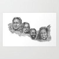 Mount Awesomore Art Print