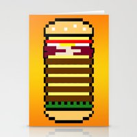Diet Burger Stationery Cards