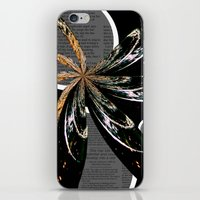 Golden Burst iPhone & iPod Skin