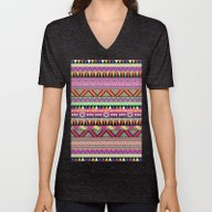 Unisex V-Neck featuring OVERDOSE by Bianca Green