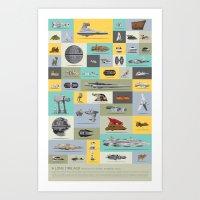 A Long Time Ago - The Co… Art Print