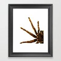 The Big Spider Framed Art Print