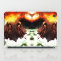 Ion Bombardment Mirrored… iPad Case