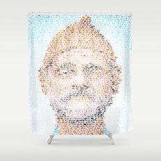 The Aquatic Steve Zissou Shower Curtain