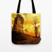 Golden Nature Tote Bag