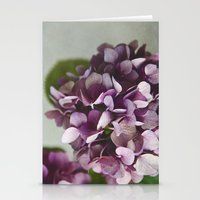 Fading Flowers Stationery Cards