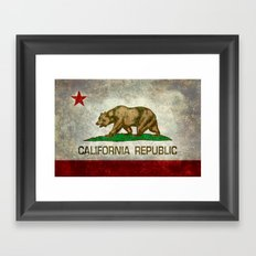 California Republic Stat… Framed Art Print