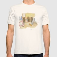 Please a little help! Mens Fitted Tee Natural SMALL
