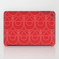 MCM Tulip Outline in Pink iPad Case